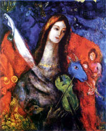 Marc Chagall, Lover's Face