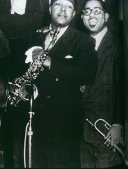 Charlie Parker and Dizzy Gillespie from  Jazz by Jeffrey Ward and Ken Burns