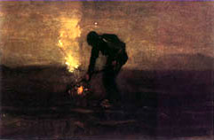 Vincent Van Gogh, Night Fires
