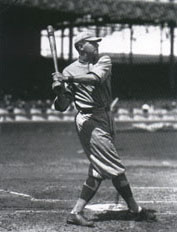 George Herman Ruth 1918,  Photo by Charles M. Conlon